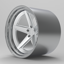 untitled.221.png Download STL file Rotiform 917 Wheel for scale model • 3D printer object, TrojanScale