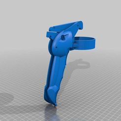Assembled_light_gun.jpg Download free STL file Ergonomic spraygun - Lighter version • 3D printer design, yttrium