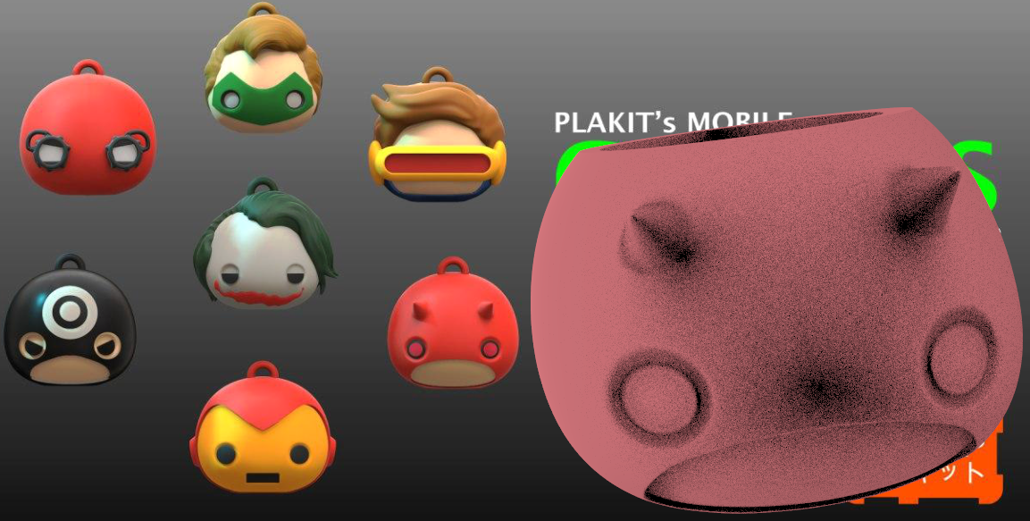 3.png Download free STL file Mates Plakit 7 versiones Pack 2 • 3D printing object, leliel