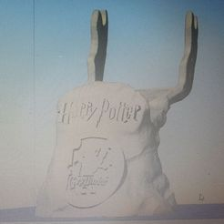 photo_2021-02-15_19-12-09.jpg Download STL file Harry Potter Controller Stand • 3D printing design, inad3dcreations