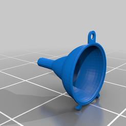 Leyka.png Download free STL file 9cm Wide Mouth Funnel • 3D print object, violaint