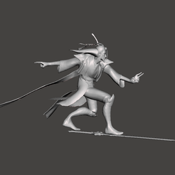 1.png Download STL file Eternal Sword Master Yi • Object to 3D print, lmhoangptit