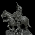 2.png Download STL file Warrior on horse - kit for 3D printing • Template to 3D print, 3D-mon