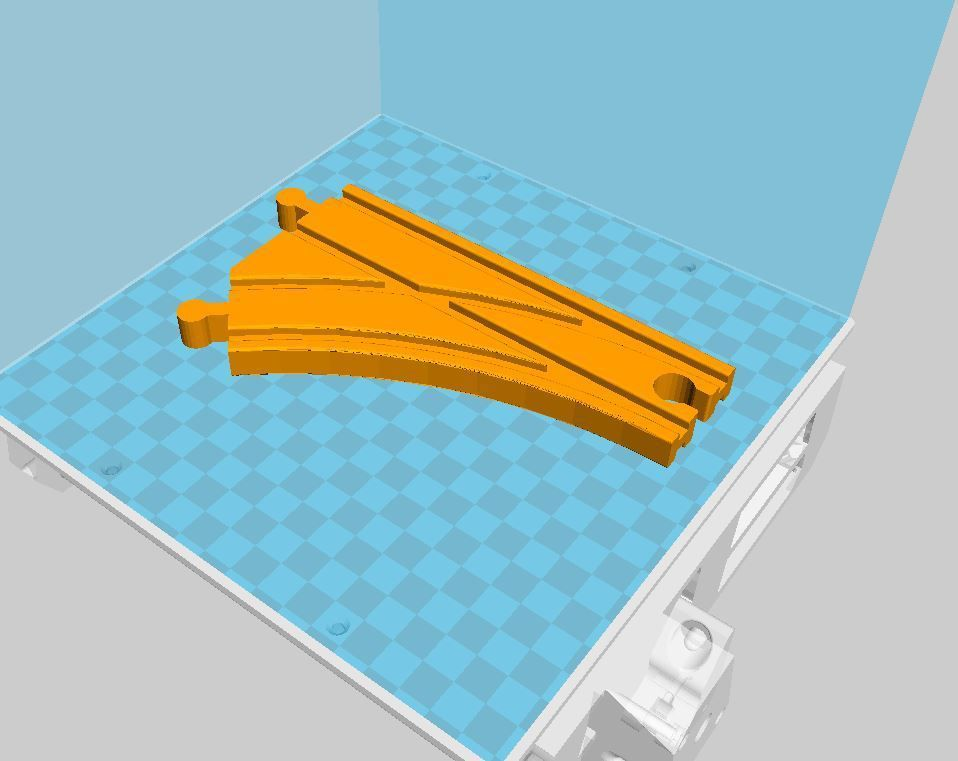 Aiguillage simple.JPG Descargar archivo STL gratis Puntos individuales para Lidl, Ikea, etc.... • Plan de la impresora 3D, luckies