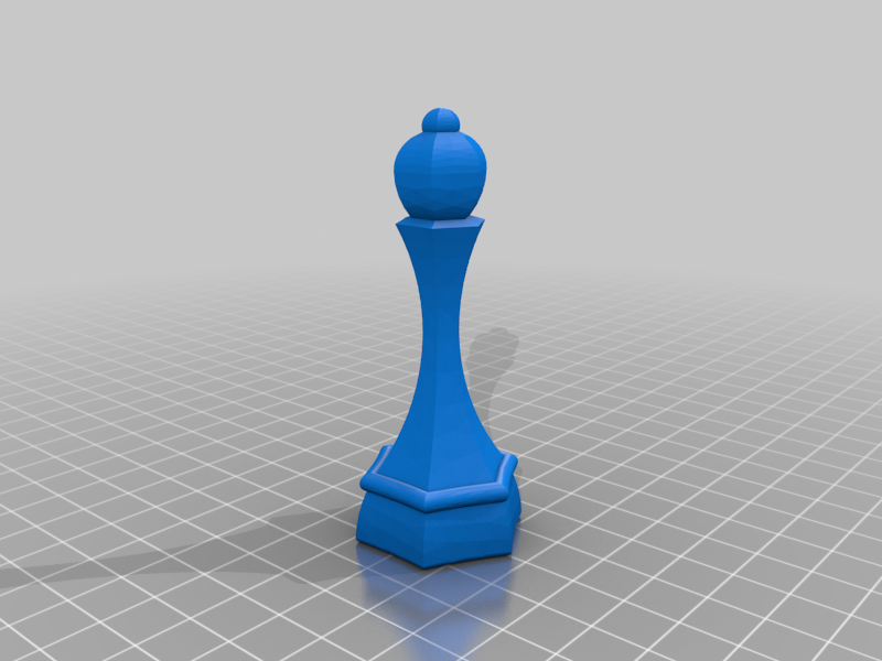 HexaFou.png Download free STL file Chess Hexa • 3D printing template, Phifr