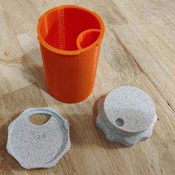 IMG_20210113_180500.jpg Download free STL file Accessible Pill Bottle Bodies without numbers • Model to 3D print, doubleyuhtee
