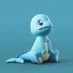 Charmander_Water_0.jpg Descargar archivo STL Pokemon - Charmander de agua • Modelo imprimible en 3D, MarProZ_3D