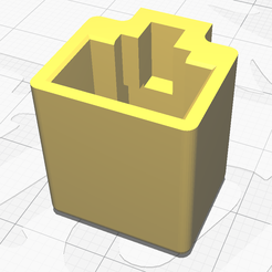 image V4.png Download free STL file Ethernet RJ45 pluggable protection • 3D printable object, Theiremi
