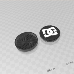 dc.png Download STL file dc grinder • 3D printable object, creaciones3d