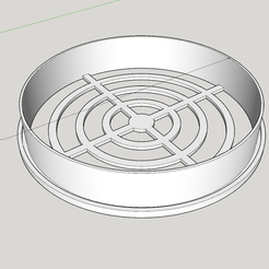 2021-02-14_16_41_52-120mm_ventilation_plug_-_SketchUp_Make_2017.png Download free STL file 120mm Ventilation Grate Plug • 3D printable template, Milan_Gajic