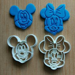 18278366_1182037635251499_3220230061790075333_o.jpg Download STL file Mickey mouse cookie cutter • 3D print design, dragoboarder