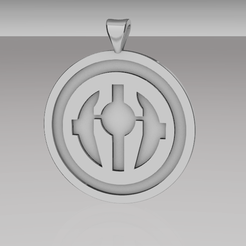 Revanchist sith pendant.png Download OBJ file Revanchist sith Pendant Star Wars 3D print model • 3D printing model, tyche3dita