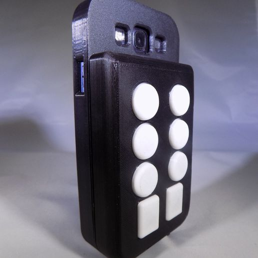 DSCN0132_display_large.JPG Download free STL file BrailleTooth -- Teclado Braille Bluetooth • Object to 3D print, Balkhagal4D