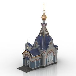 V 640 x 480 px.jpg Download free 3DS file Church • 3D printable template, johnmark