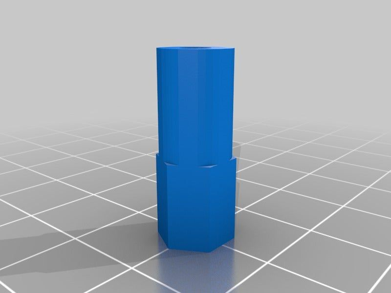 3DR_Modified_joint_and_rod_adapter.jpg Download free STL file Joint for 3dr • Object to 3D print, Row