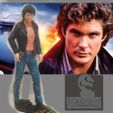01b main.jpg Download STL file Knight Rider – Young Hoff - by SPARX • 3D printable design, SparxBM
