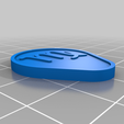 Virgo_clip.png Download free STL file Shopping Cart Trolley Coins • 3D print design, meteoGRID