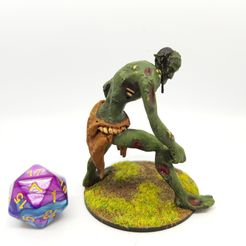 20190204_074857.jpg Download free STL file Rot Troll/Undead Troll for 28mm Tabletop Gaming • Model to 3D print, AJade