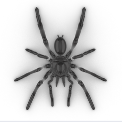 Screenshot_1.png Download STL file Articulated Tarantula • 3D print template, GENNADI3313