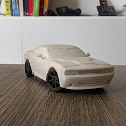 IMG_20180411_133651.jpg Download free STL file Dodge Challenger Bodie for OpenZ 1:28 RC Chassis V3b • Design to 3D print, guaro3d