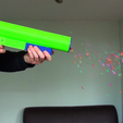 vlcsnap-2017-05-24-09h33m08s768.png Download free STL file 3D Printed Party Popper Pistol • Template to 3D print, MBcreates