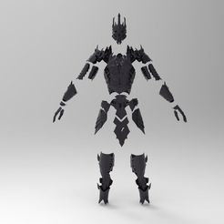 a41e36fae0a91f77d2031331da7bad26_display_large.jpg Download free STL file Sauron Armor - Complete • 3D printer template, arifsethi