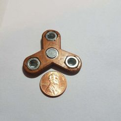 20170919_103235.jpg Download free STL file Mini 623 with Nuts Fidget Spinner • Object to 3D print, Scotty-G