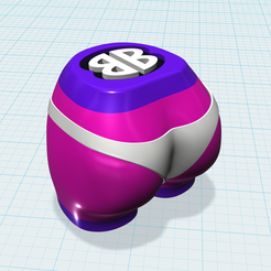 Screen Shot 2018-10-22 at 4.11.00 PM.png Download free STL file Bootie Shaker™ (Spices) • Single Cavity • 3D print template, BOOTIEBABE