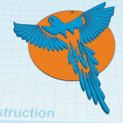 2.png Download free STL file Cacatoes • 3D printable model, oasisk