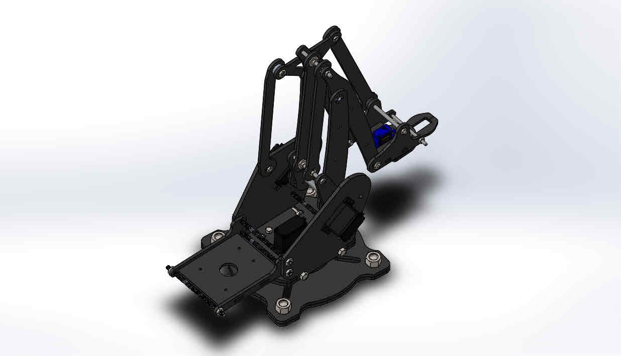 Uarm_6.JPG Download STL file Robotic Arm Design • 3D printer object, Eng_Am_Al