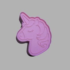 Unicornio_B-v1.png Télécharger fichier STL SOLID SHAMPOOO PRESS SOLID SOAP Bath Bomb Mold. • Design pour imprimante 3D, pachecolilium