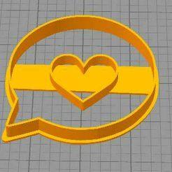 corazonwasa.JPG Download STL file WhatsApp heart • Object to 3D print, euge_bauer