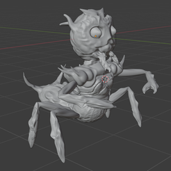 1.png Download STL file Ant Warrior • 3D printable template, sui1987