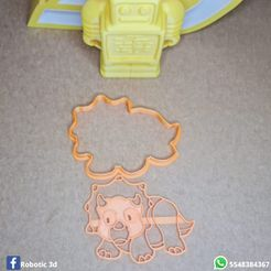 IMG-20210416-WA0012[1].jpg Download STL file PACK 6 CUTTER AND STAMP DINOSAURS • 3D printer object, robotic3dmx