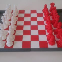 DSC_0159_display_large.jpg Download free STL file Snap fit Chess board • 3D printer template, Yipham