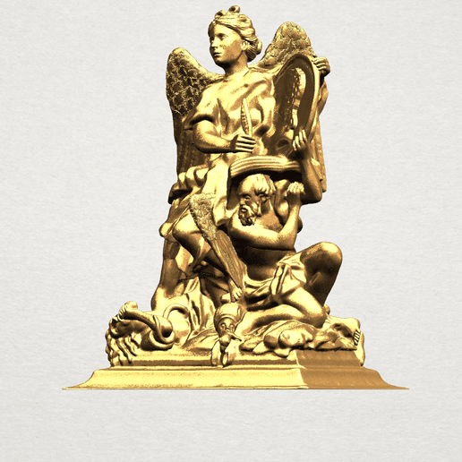Angel (vi) - A02.png Download free STL file Angel 06 • Design to 3D print, GeorgesNikkei