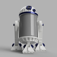 r2d205.png Download STL file R2D2 for alexa made by amazon • Object to 3D print, 3dMestres