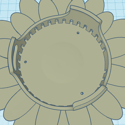 Echo-dot-v3-daisy-wall-mount.png Download free STL file Echo dot 3 daisy wall mount • 3D printable model, stephanieskater2