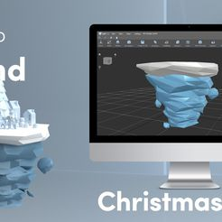 Cover_island.jpg Download free STL file Low Poly Island • 3D printable template, sammy3