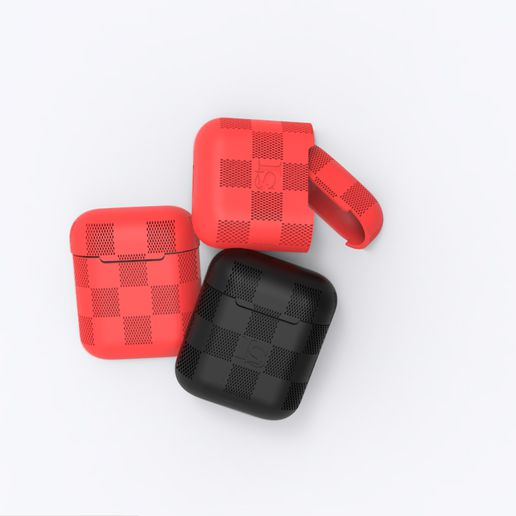 AirpodCase WB Large.jpg Download STL file Airpod Patterned Case • Template to 3D print, stanlinz