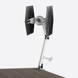 lamp star wars3.png Download STL file Lamp Tie Fighter - star wars • 3D printing object, 3dokinfo