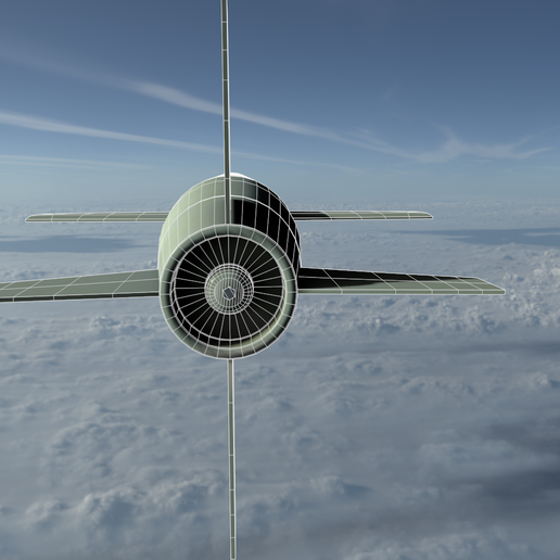 05a.png Download 3DS file Tomahawk Missile • Template to 3D print, SimonTGriffiths