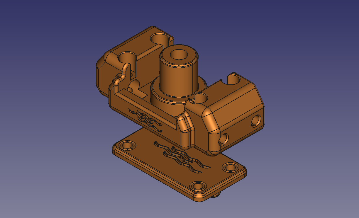 A.png Download free STL file Another ANYCUBIC PHOTON Easy Leveler + Springs • 3D printer model, TsunamiSoul