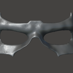 mask front.PNG Télécharger fichier STL Masque TITANS Nightwing • Objet imprimable en 3D, StarLord