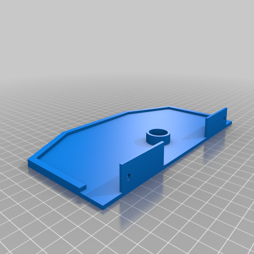 DECK__FRAME_B_x1.png Download free STL file rc TRAILER TRUCK 1/14 • 3D print template, r083726