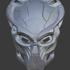 immortal-1.jpg Download STL file Immortal Predator Mask • 3D print template, Leggs-Stl