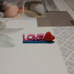 15302326_10211661007270527_1322188366_o.jpg Download STL file Support love with heart • Model to 3D print, pascal02700