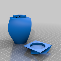 lofted_angled_container.png Download free STL file Lofted Container • 3D printing object, Hegonauta3D
