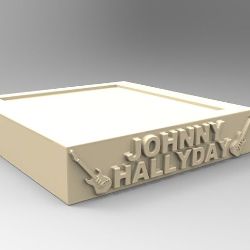 socles_02.jpg Download STL file JOHNNY HALLYDAY • 3D print template, thierry3D