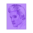 elvis5.stl Download free STL file 3D drawing Elvis Presley • 3D printable object, 3dlito